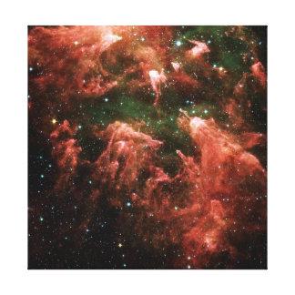 Carina Nebula Space Photo Canvas Print
