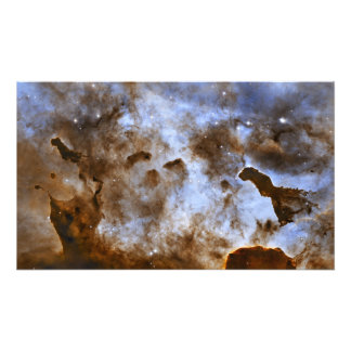 Carina Nebula Star-Forming Pillars Photographic Print