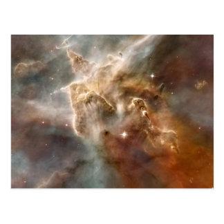 Carina Nebula Star-Forming Region Detail Postcard
