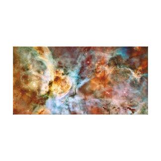 Carina Nebula Stretched Canvas Print