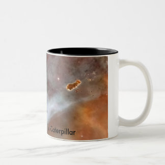 Carina Nebula - The Caterpillar Two-Tone Coffee Mug