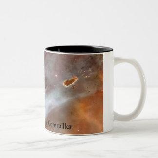 Carina Nebula - The Caterpillar Two-Tone Mug