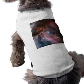 Carina Nebula, Wolf–Rayet star WR 22 Sleeveless Dog Shirt