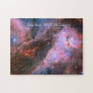 Carina Nebula, WR22, Eta Carinae Jigsaw Puzzle