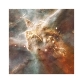 Carina nebulae stretched canvas prints