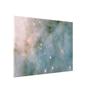 Carinae Sculpt Gas and Dust Stretched Canvas Prints