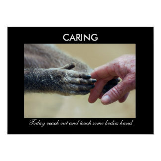 Caring Poster