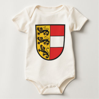 Carinthia coat of arms baby bodysuit