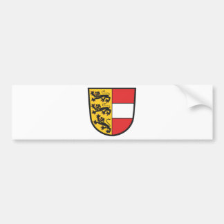Carinthia coat of arms bumper sticker