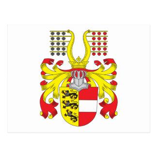 Carinthia Coat Of Arms Postcard