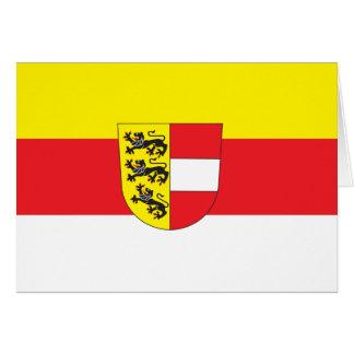 Carinthia Flag Greeting Card