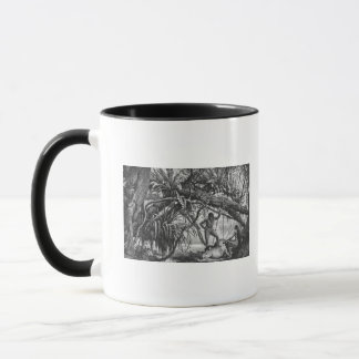 Caripuna Indians with tapir Mug