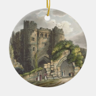 Carisbrook Castle, from 'The Isle of Wight Illustr Christmas Ornament