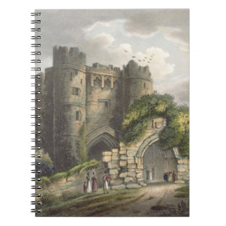 Carisbrook Castle, from 'The Isle of Wight Illustr Notebook