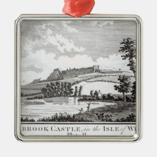 Carisbrook Castle, in the Isle of Wight Christmas Ornament