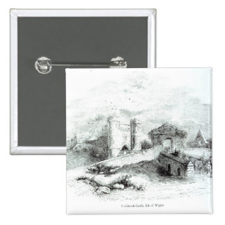 Carisbrook Castle, Isle of Wight 15 Cm Square Badge