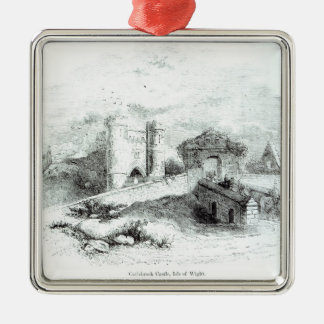 Carisbrook Castle, Isle of Wight Christmas Ornament