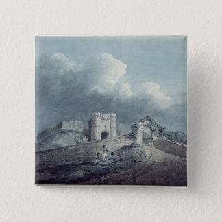 Carisbrooke Castle 15 Cm Square Badge