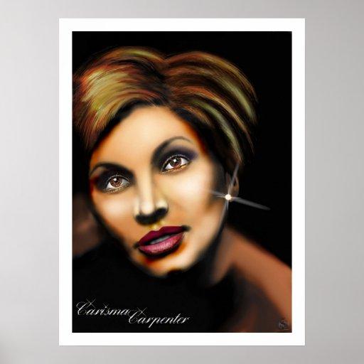Carisma Carpenter Poster