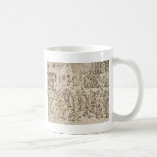 Caritas (Charity) by Pieter Bruegel the Elder Basic White Mug