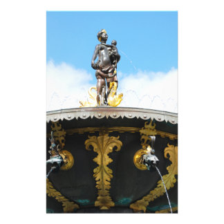 Caritas Well Fountain - Copenhagen, Denmark Personalized Flyer