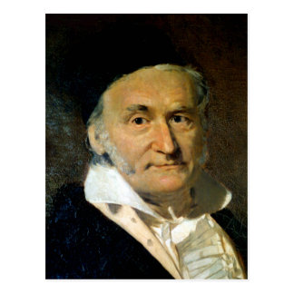 carl friedrich gauss postcard