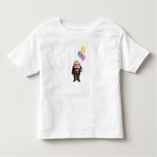 Carl from the Disney Pixar UP Movie Holding Toddler T-Shirt