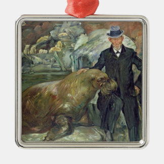 Carl Hagenbeck  in His Zoo, 1911 Christmas Ornament