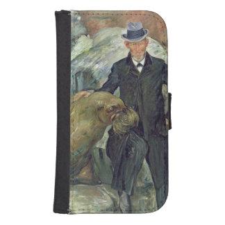 Carl Hagenbeck  in His Zoo, 1911 Samsung S4 Wallet Case