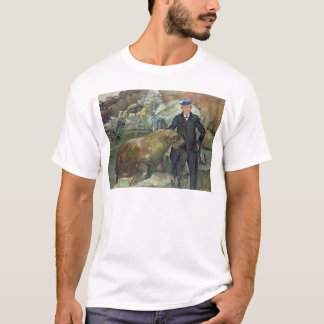 Carl Hagenbeck  in His Zoo, 1911 T-Shirt
