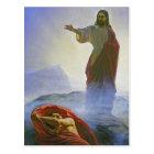 Carl Heinrich Bloch - Jesus Tempted GC Postcard