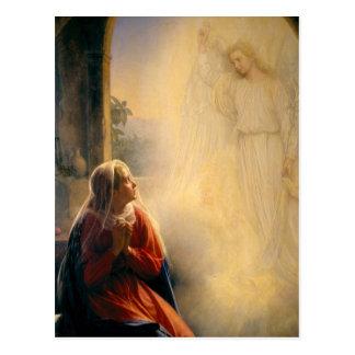 Carl Heinrich Bloch - The Annunciation Postcards