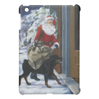 Carl Helping Santa Claus from <Carl's Christmas> b Case For The iPad Mini