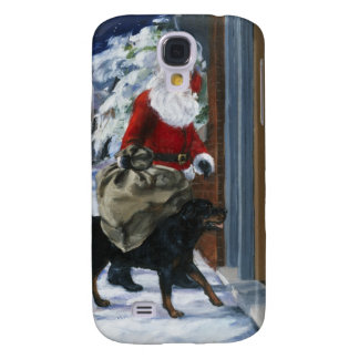 Carl Helping Santa Claus from <Carl's Christmas> b Galaxy S4 Case