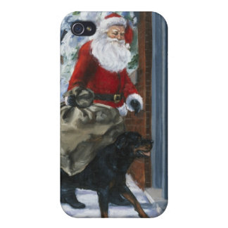 Carl Helping Santa Claus from <Carl's Christmas> b iPhone 4 Case