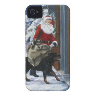 Carl Helping Santa Claus from <Carl's Christmas> b iPhone 4 Cover