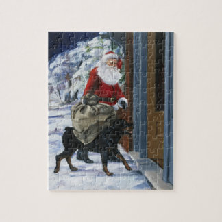 Carl Helping Santa Claus from <Carl's Christmas> b Jigsaw Puzzle