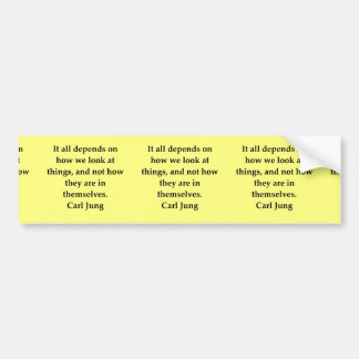 carl jung quote bumper sticker