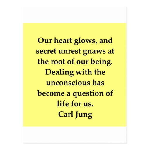 carl jung quote postcards