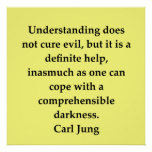 carl jung quote poster