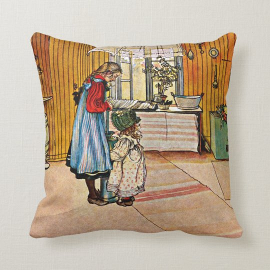 Carl Larsson art: The Kitchen Cushion
