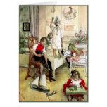 Carl Larsson Christmas Morning Greeting Card