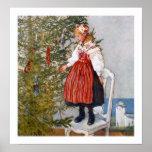 Carl Larsson Christmas Tree Poster Fine Art Print