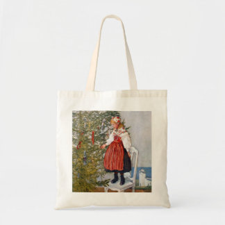 Carl Larsson Christmas Tree Tote Bag