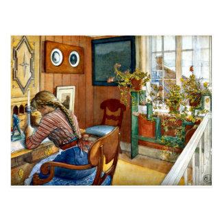 Carl Larsson - Correspondence Postcard