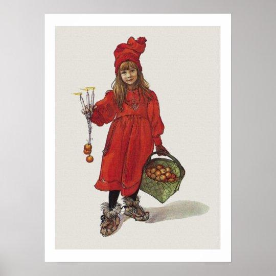 Carl Larsson Little Swedish Girl Brita as Iduna