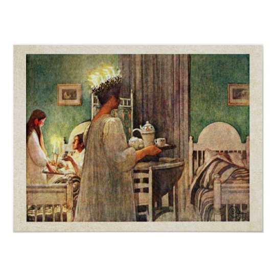 Carl Larsson St. Lucia Day Christmas in Sweden