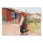 Carl Larsson The Falun Home Greeting Card