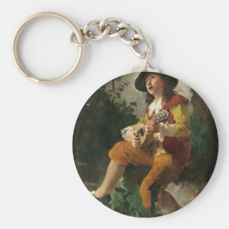 Carl Larsson The Water Sprite Key Chains