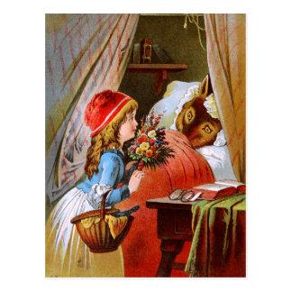 Carl Offterdinger: Little Red-Cap Postcard